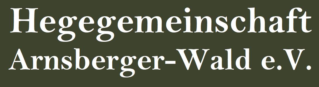 Hegegemeinschaft Arnsberger-Wald e.V.